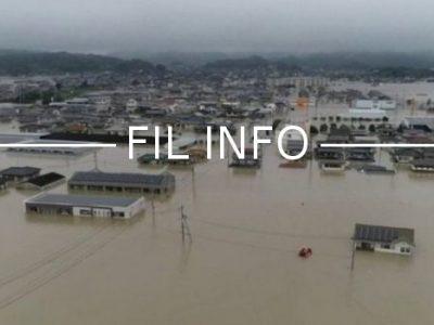 FIL INFO Inondations Japon