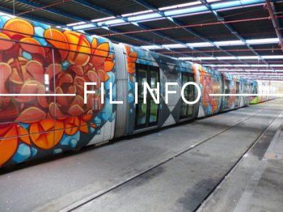 FIL INFO Tram Street art