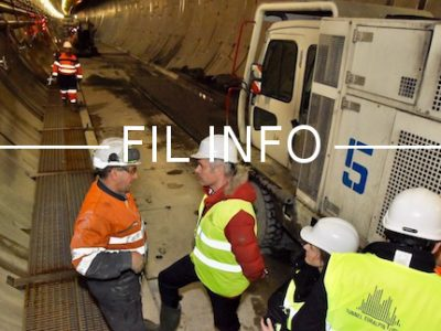 En visite sur le chantier du Lyon-Turin, Laurent Wauquiez s'en est pris au rapport Duron. Lequel préconise de différer les accès à la ligne ferroviaire.
