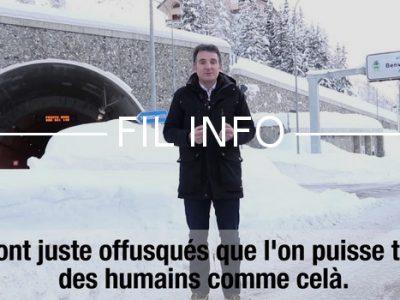 Fil Info Éric Piolle vidéo Migrants Col de l'échelle