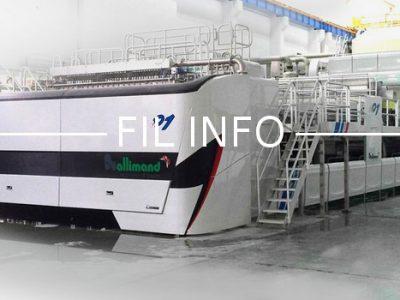 """L'entreprise iséroise Allimand confirme sa présence en Chine avec la livraison de deux machines à papier à cigarettes """"vertes"""" au groupe Huafeng."""