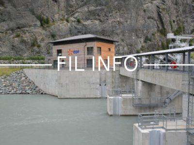 Des élus, dont des conseillers régionaux Auvergne-Rhône-Alpes, de la Métro ou de Grenoble, veulent faire barrage... à la privatisation des barrages.