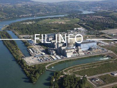 Fil Info - Centrale saint-alban © EDF