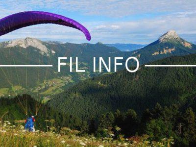 Avec son projet de film Il faut sauver les Alpes, Nicolas Plain allie environnement et parapente, avec mesures de pollution à la clé.