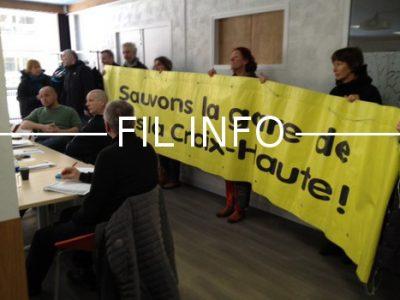 Fil Info Collectif étoile ferroviaire Veynes Lus La Croix Haute
