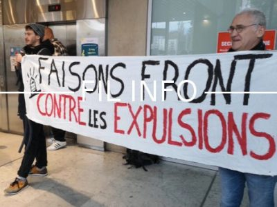 Fil Info Dal hébergement expulsions manifestation