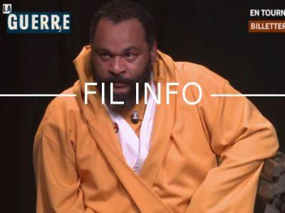 Fil Info Dieudonné sketch viol