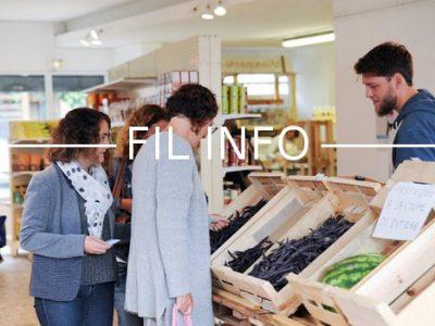 L'épicerie coopérative grenobloise L'Éléfàn organise une journée portes ouvertes le 14 octobre, à l'occasion du lancement de la monnaie locale le Cairn.