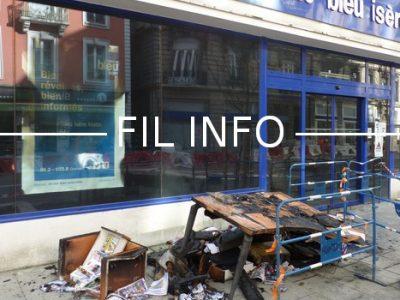 Fil Info France Bleu Isere incendie