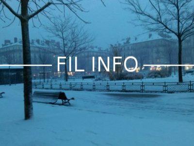 Fil Info Grenoble Victor Hugo neige