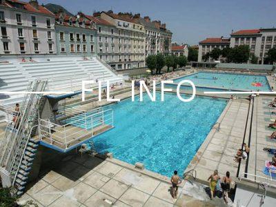 Fil Info Piscine municipale Jean Bron
