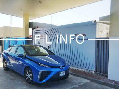 Fil Info Station hydrogene Air Liquide Dubai