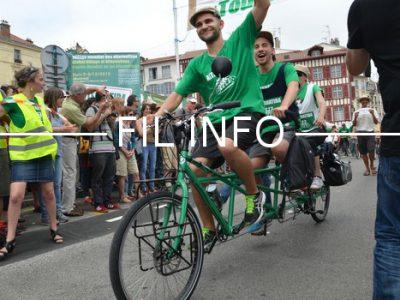 Fil Info Tour vélo énergie positive Alternatiba