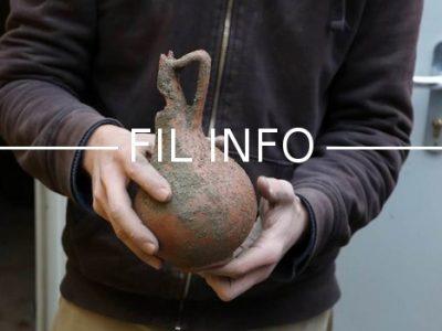 Fil Info Urne funéraire antique Grenoble