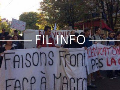 L'Unef Grenoble appelle à manifester mardi 6 février contre le Plan étudiant du gouvernement, accusé d'instaurer une sélection à l'entrée des universités.