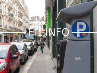 Fil Info stationnement horodateur rue