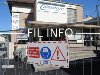 Après plus de sept mois de travaux, le Cinéma art & plaisirs (Cap), la salle municipale de Voreppe, rouvrira ses portes au public, le 13 décembre prochain.