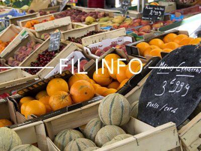 Fruits et légumes du marché de l'Estacade, Grenoble © Chloé Ponset - Place Gre'net
