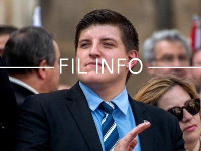 Alexandre Gabriac annonce se candidature pour Civitas aux élections législatives sur la deuxième circonscription de l'Isère.