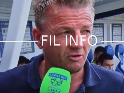 Olivier Guégan ne sera plus l'entraîneur du GF38 lors de la saison 2018-2019. © DR