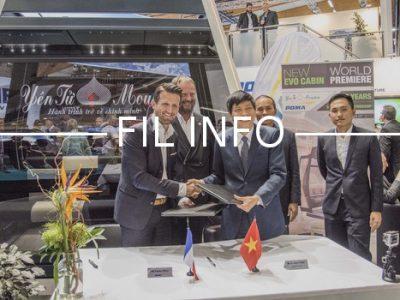 Fil info Poma signature contrat avenant vietnam