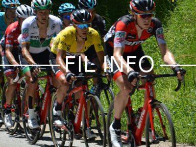 Richie Porte, maillot jaune de leader du critérium du Dauphiné, le 10 juin 2017. © Laurent Genin