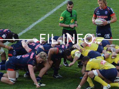 Les rugbymen du FCG ont quitté le Top 14 sur une victoire face à Lyon samedi soir. © Laurent Genin