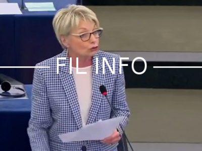La députée européenne Françoise Grossetête est sortie de ses gonds le 12 mars lors du débat autour de la nomination de Martin Selmayr.