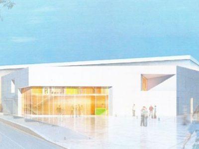 Le futur centre sportif de l'Arlequin devrait ouvrir à la rentrée 2019. © Document ville de Grenoble