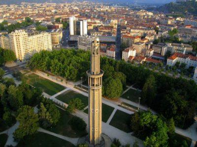 Vue aérienne de Grenoble © Grelibre