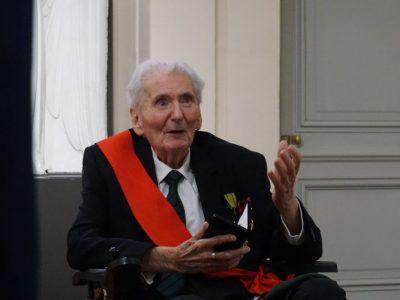 Les communes Compagnons de la Libération, dont Grenoble, rendent hommage à Hubert Germain