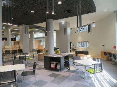 La bibliotèque d'étude et du patrimoine a été rénovée durant 1 an et demi. © Tim Buisson – Place Gre'net