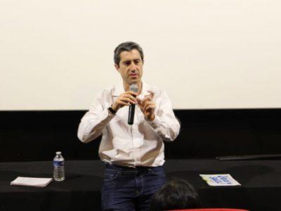 François Ruffin a animé un débat avec les spectateurs à l'issue de la séance.