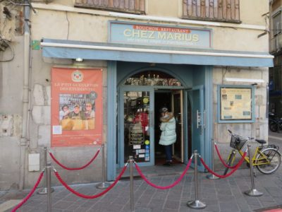Le restaurant Chez Marius propose des repas à 1 euro pour les étudiants. © Tim Buisson – Place Gre'net