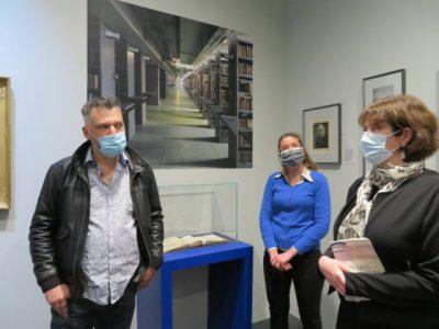 De gauche à droite : Emmanuel Carroz, Elsa Belle et Isabelle Westeel. © Tim Buisson – Place Gre'net
