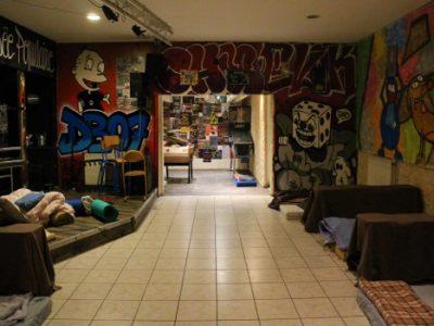 L'association L'Engrenage accueille des personnes sans-abris dans ses locaux pour y passer la nuit © Anaïs Mariotti