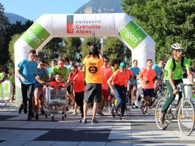 Les courses sont chaque année un succès. Les participants découvrent le campus et obtiennent un T-shirt gratuit au couleur de l'événement