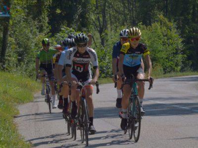 Isère Cyclisme Etudes, lancée en septembre 2021, regroupe les jeunes coureurs de BMX, VTT et cyclisme sur route au sein d'une même structure de sports-études, à Voiron. © Marine Sevoz