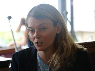 Elodie Jacquier-Laforge, candidate La République en marche sur la 9e circonscription.