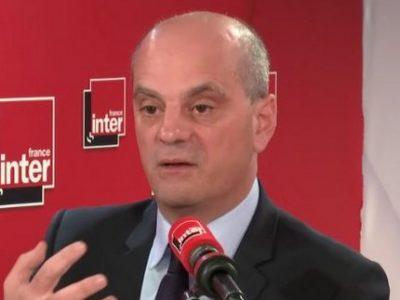 Jean Michel Blanquer UNE