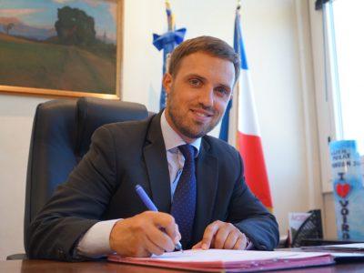 Julien Polat maire de Voiron © Voiron