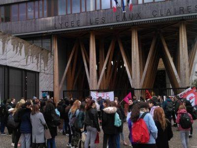 Lycée Eaux Claire mardi 28 janvier 2020 (3) UNE
