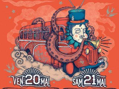 Affiche festival Magic Bus