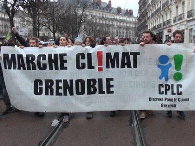 Nouvelle Marche pour le climat à Grenoble dimanche 9 mai au départ de la place Verdun