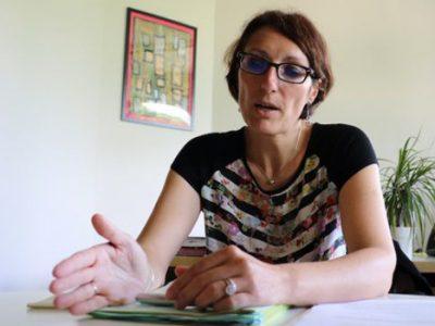 Maud Tavel, adjointe à Grenoble en charge de l'administration générale et du personnel : difficultés budgétaires et comptes. Crédit Patricia Cerinsek
