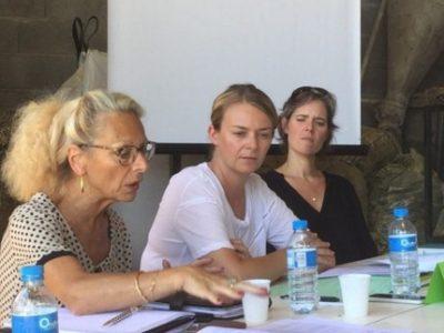 Monique Limon Elodie Jacquier-Laforge Cendra Motin rencontre parlementaires syndicats agricoles une