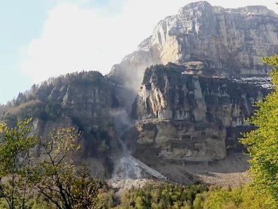 Un nouvel éboulement en vue sur le mont Granier, interdit d'accès depuis 2016?