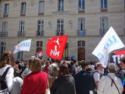 Mouvement lycéen Grenoble