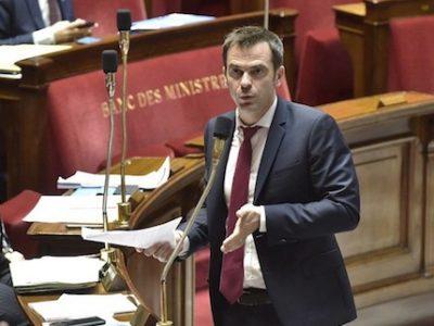 Le député Olivier Véran est le rapporteur du projet de loi organique sur la réforme des retraites visant à organiser le pilotage financier du système
