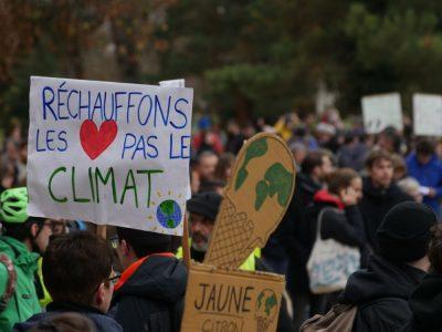 La marche pour le climat à Grenoble. © Jérémie Le Colleter - Placegrenet.fr